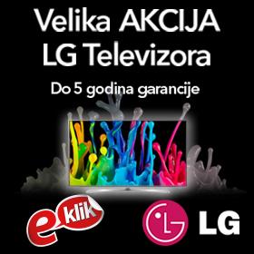 Velika akcija LG televizora